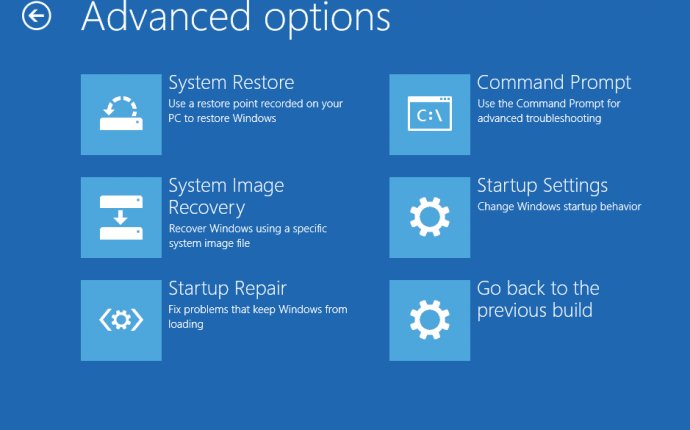 Advanced Startup Options (What It Is & How to Use It)